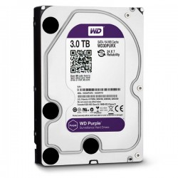 HDD Western Purple 3TB-5400, Sata 3, 64Mb