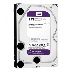 HDD Western Purple 4TB-5400, Sata 3, 64Mb