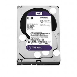 HDD Western Purple 6TB-5400, Sata 3, 64Mb
