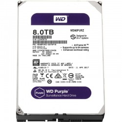 HDD Western Purple 8TB-5400, Sata 3, 64Mb