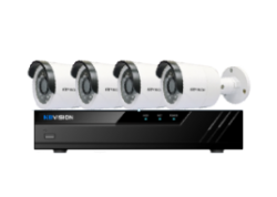 Trọn bộ 4 Camera KBVISION 2.0MP Full HD